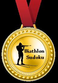 1-е место Biathlon Sudoku