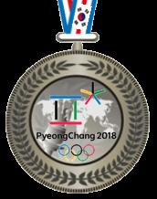 2-е место ФТП PyeongChang 2018